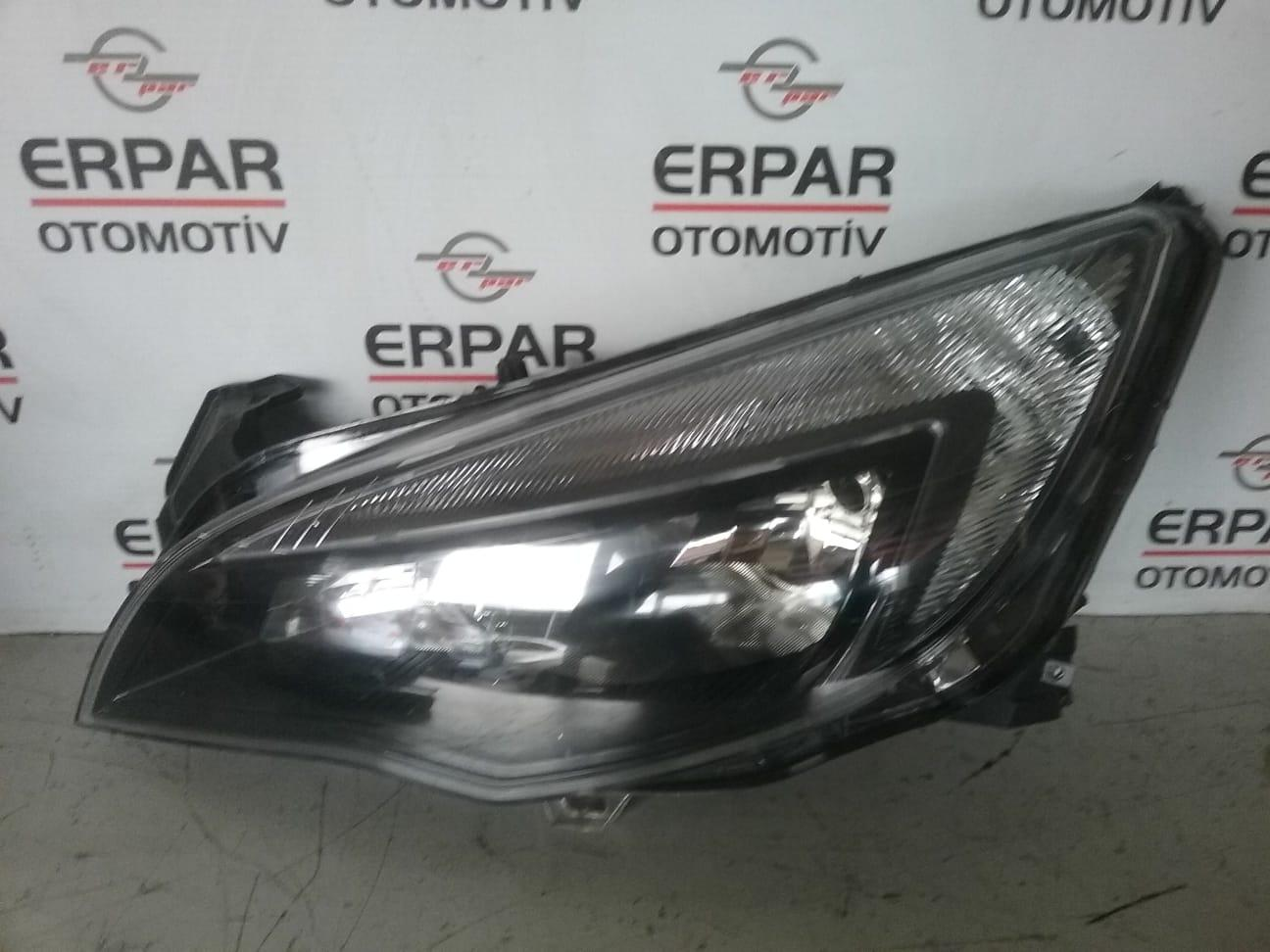 ASTRA J SİYAH LED FAR SOL