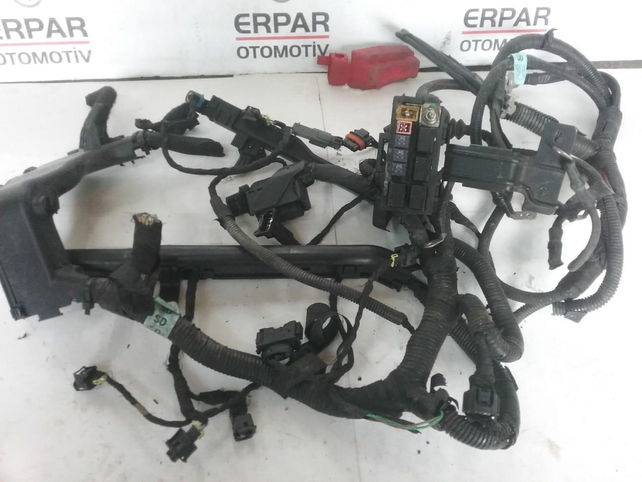 CAPTİVA C100 MOTOR TESİSATI